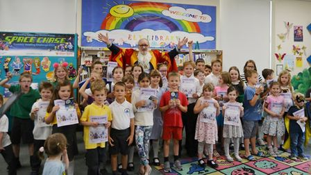 More than 1,600 books were read by children in Ely taking part in the Summer Reading Challenge at El