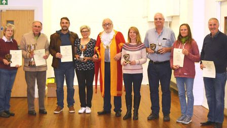 Prizes were awarded to green-fingered East Cambs residents at the City of Ely Allotments and Gardens