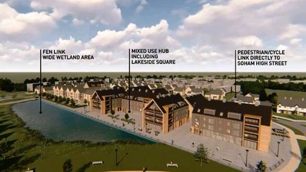 Soham Eastern Gateway: The development will provide up to 575 homes, including affordable housing, a