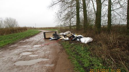 Photos taken by Fenland Council enforcement officers that helped secure the conviction against a Pet