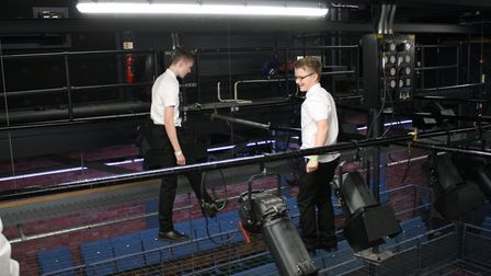 Pupils from Witchford Village College took a techie trip to Cambridge Junction to explore different