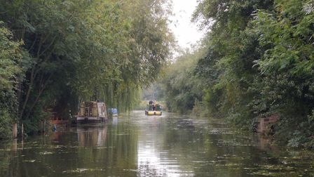 Council bosses joined officials from Middle Level Commissioners (MLC) on a narrowboat tour to see ho