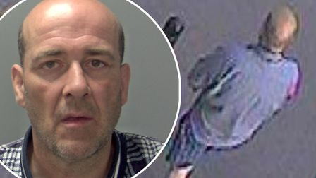 Fake policeman David Watts (pictured) has been jailed for 25 years after handcuffing and stabbing a