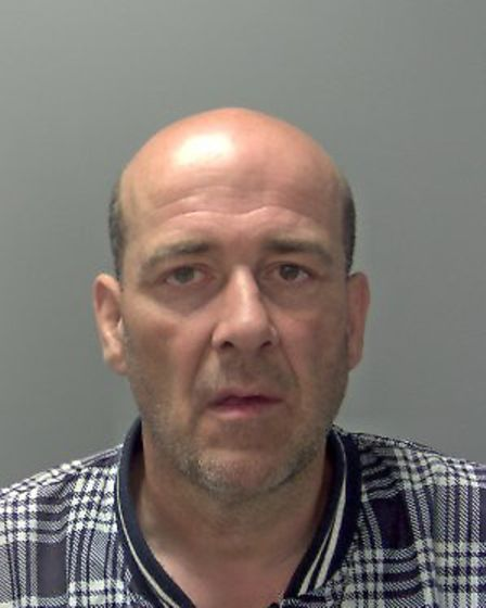 Fake 'policeman' David Watts (pictured) has been jailed for 25 years after handcuffing and stabbing