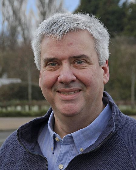 Cllr Roger Hickford, deputy leader of Cambridgeshire County Council, who is now a tenant farmer of t