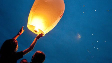 Call to ban use of sky lanterns and helium balloons in Fenland. Picture: ARCHANT
