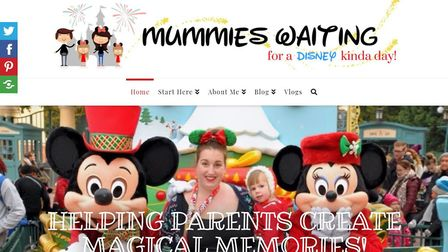 Mother-of-two Jade Staff from Ely is a finalist at the Brilliance in Blogging Awards for her Disneyl