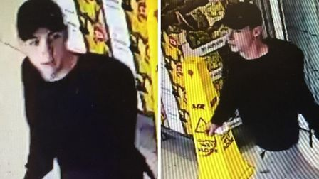 Have you seen this man? Police would like to speak to him in connection with a theft of a 12-year-ol