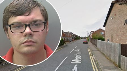 Registered sex offender Aaron Batchelor (pictured) has been jailed after breaching his court order b