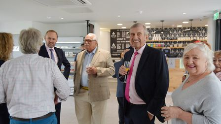Grovemere Property mark 30 years with celebratory gathering at new coffee house. Picture: MIKE ROUSE