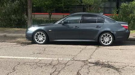 Stolen BMW from Fordham. Police in East Cambs are investigating this and other vehicle related offen