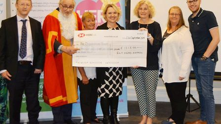 It was a night to recognise the impact that the Ely Hero Awards has on the community as £1313 was ha