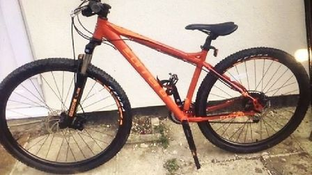 A limited edition bike given to a boy for his 14th birthday has been stolen from Chatteris. Picture: