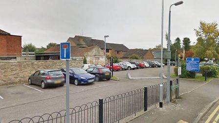 A group of travellers have left Clay Street car park in Soham. Picture: GOOGLE EARTH