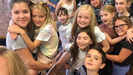 £2,626 funding boost for Little Downham theatre group Youth Acts UP thanks to Tesco's Bags of Help f