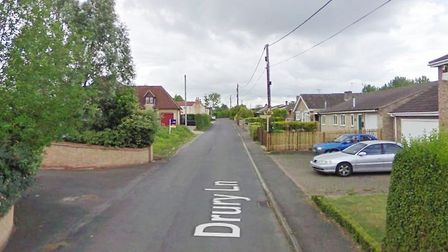 Two men in court charged with burglary in Drury Lane, Wicken. Picture: GOOGLE EARTH