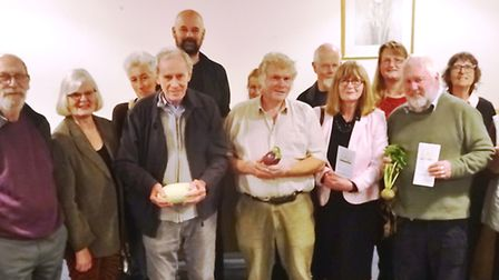 The March Society held their 12th annual meeting with a special presentation by Mick Matthews (front