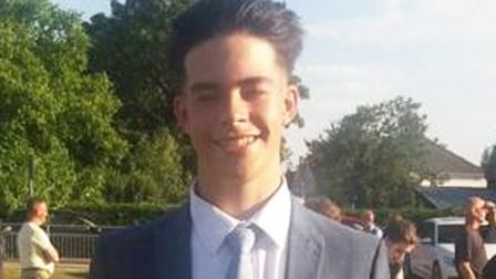 Thomas Chesser (pictured) died in August this year after his Suzuki motorbike crashed into a tree in