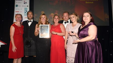 Ely Standard East Cambridgeshire Business Awards 2019 New Business of the Year winner Head Fen Count