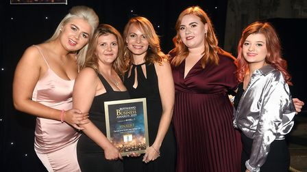 ElEly Standard East Cambridgeshire Business Awards 2019 Supporting Young People finalist Farrow and
