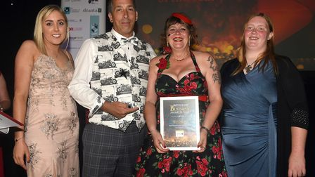 Ely Standard East Cambridgeshire Business Awards 2019 Family Business of the Year AAA Motorcycle Tra