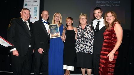Ely Standard East Cambridgeshire Business Awards 2019Judges Award Cambridgeshire Expressive Arts and