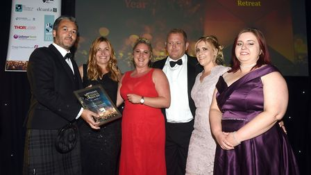 Ely Standard East Cambridgeshire Business Awards 2019New Business of the Year winner Head Fen Countr
