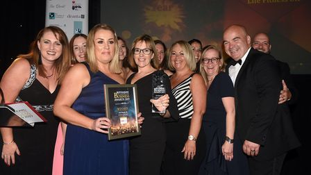 2019 Ely Standard East Cambridgeshire Business Awards took place at Ely Cathedral on Friday Septembe