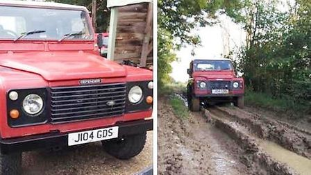A desperate plea has been issued to return a stolen Land Rover from Isleham to its owners. Picture: