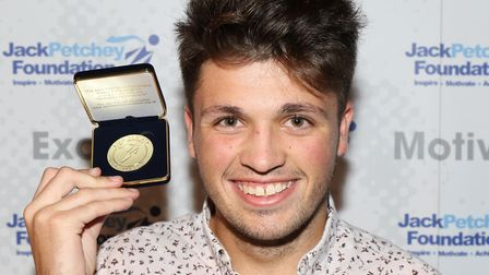 Joe Pearson received a Jack Petchey Foundation Achievement Award. Picture: CONTRIBUTED