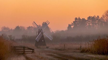 Ely Photographic Club holds first image competition of the season: Fenland Sunrise by Glynis Pierson