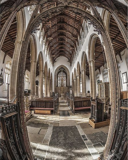 Ely Photographic Club holds first image competition of the season: St Edmunds Church Southwold by Ph