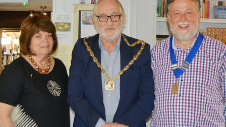 Littleport Lions mark year of fundraising at charter meal. Picture: MIKE ROUSE