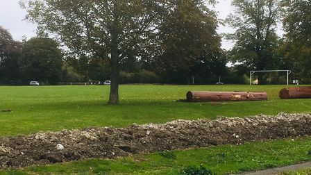 Residents of Swaffham Bulbeck took matters into their own hands and dug trenches around the village