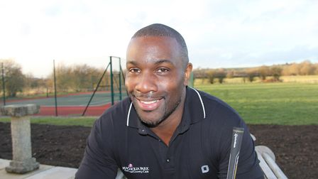 Derek Redmond who is to be guest speaker at the SportsAid lunch in Ely on November 1. Picture; SUBMI