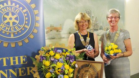 The Ely Inner Wheel Club welcomed district chairman Deidre Griffin as the guest of honour and she in
