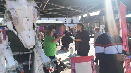 Community group Eco Ely aims to raise awareness of environmental issues, sustainability and recyclin