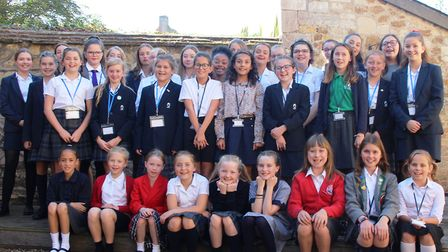 Girls from all walks of life joined forces to spend a day in the life of an Ely Cathedral chorister.