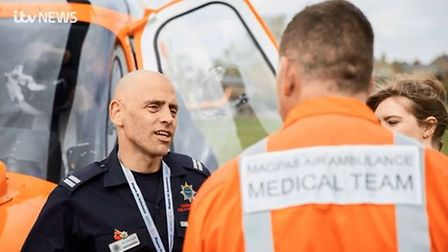 Cambridgeshire Fire and Rescue Service's Wayne Marshall (pictured) is a finalist in the Pride of Bri