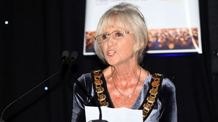 Community champion Cllr Lis Every, who is also chair of East Cambridgeshire District Council, addres