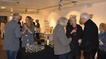 Work created by 15 members of the Anglian Potters group is on display at the Babylon Gallery in Ely