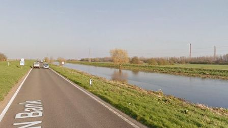 A flood warning has closed North Bank between Peterborough and Whittlesey. Picture: GOOGLE EARTH