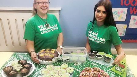 Cakes, face painting and games formed part of a Macmillan fundraising event at an Ely nursery. Pictu