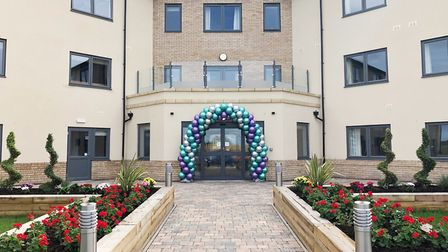 A new 66-bed care home in Ely that has a salon, library – and even a cinema – has welcomed its first