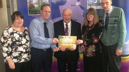 Awards night by Fenland District Council for those that have helped make our area a cleaner and gree