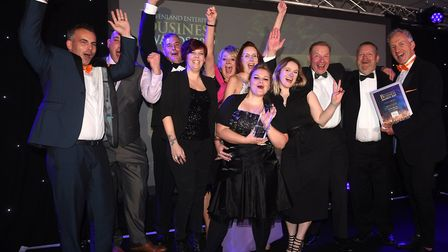 Fenland Enterprise Business Awards 2019. Company of the Year Fenland RP Ltd. Picture: IAN CARTER.