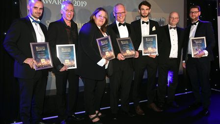 Fenland Business Awards 2019. Small Business of the Year award winner Studio 11 Architecture and fin