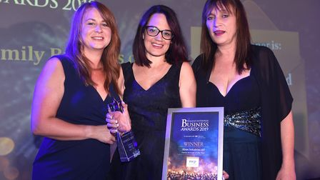 Fenland Business Awards 2019. Family Business of the Year winner Abtec Industries Ltd. Picture: IAN