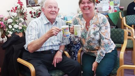 More than 120 people enjoyed homemade cakes and sandwiches at Nellie's Community Cafe for a Macmilla