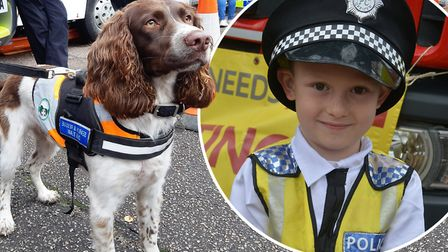 Almost 1,000 people came out for Ely Police Stations open day on Sunday, October 6. Picture: Mike Ro